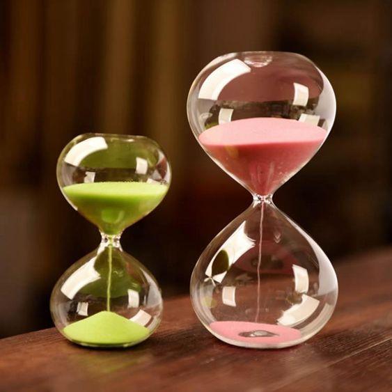 時間沙漏計時器創意3分鐘客廳酒櫃家居裝飾擺件節日禮物