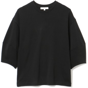 Vince(ヴィンス)/ピマコットン パフスリーブ クルーネックTシャツ