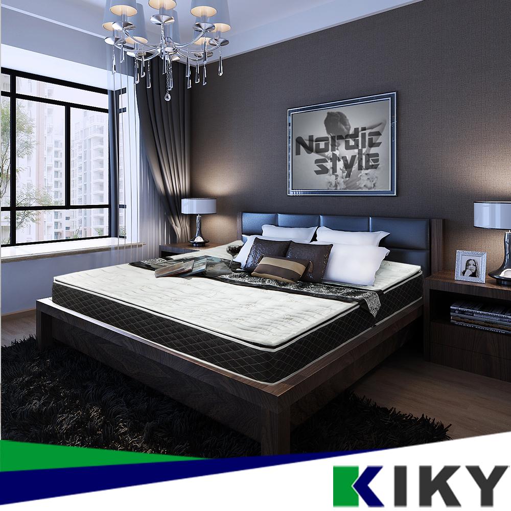 【KIKY】巴塞隆納虎口三線獨立筒床墊 雙人加大6尺