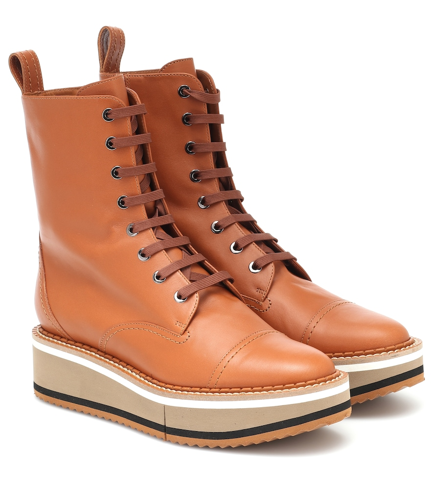 British leather boots