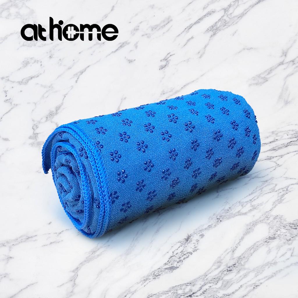 athome 瑜珈墊保潔毯-海岬藍