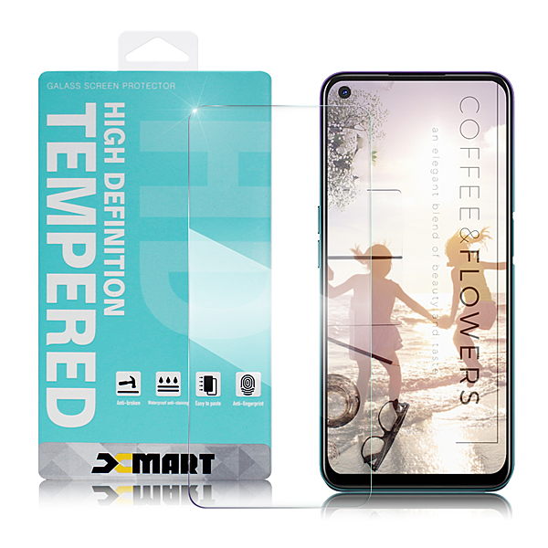Xmart for OPPO A72 薄型 9H 玻璃保護貼-非滿版