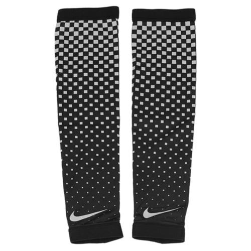 Nike Dri-Fit Sleeves [NRS97001SM] 女 運動 健身 跑步 防曬 反光 輕量 臂套 黑灰