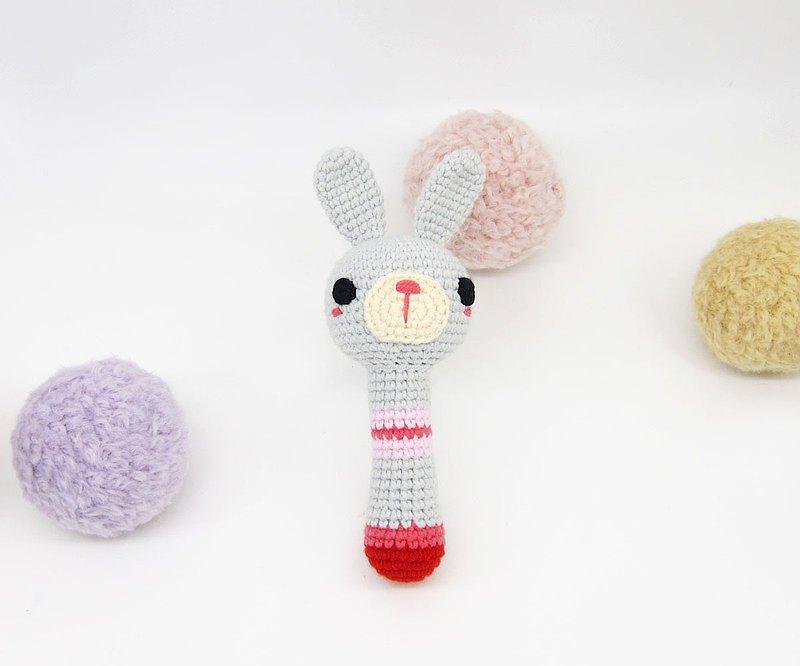灰兔兔/手搖鈴/彌月/寶寶