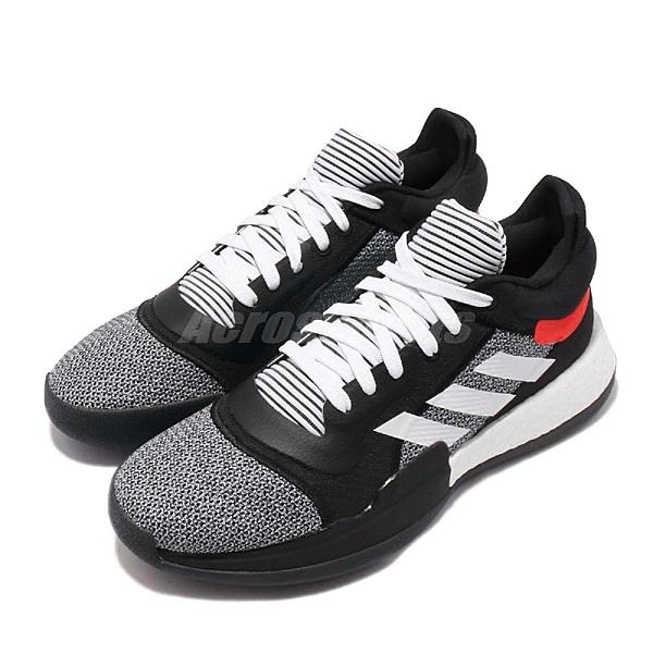 【六折特賣】adidas 籃球鞋 Marquee Boost Low 黑 白 男鞋 BOOST中底 John Wall 運動鞋【ACS】 D96931