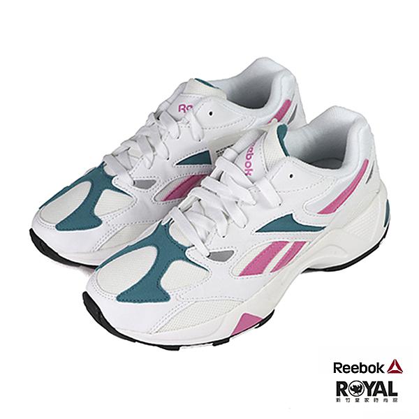 Reebok Aztrek 66 白色 皮質 運動慢跑鞋 女款 NO.J0437【新竹皇家 EF3574】