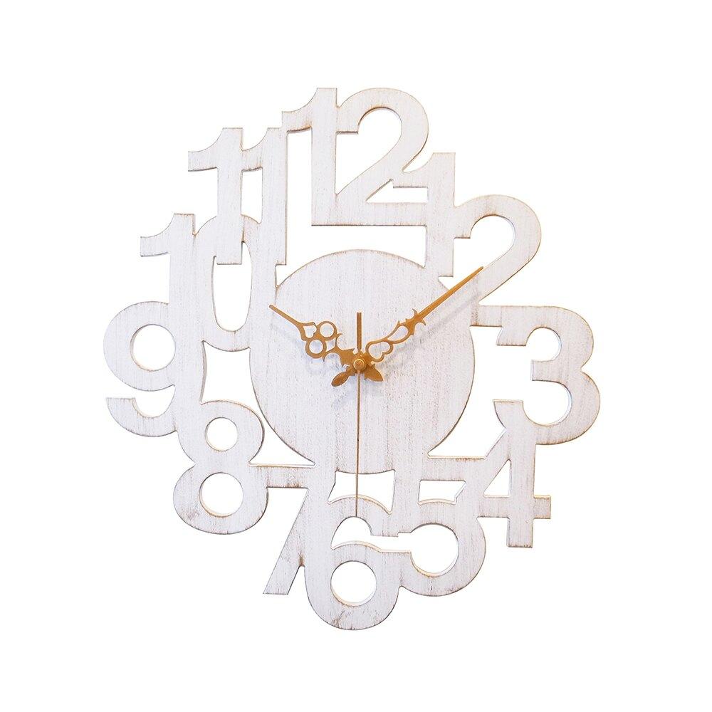時鐘/掛鐘/壁鐘 【a.cerco】復古掛鐘NUMERIC LINK(2色) MIT台灣製 完美主義 【R0012-A】
