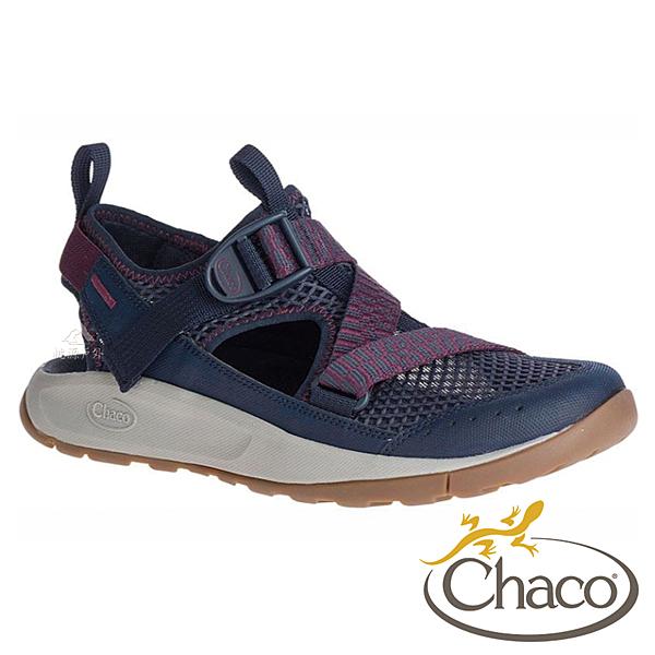 【Chaco 美國】ODYSSEY 女越野水陸鞋 ODW01『HG26低調海軍』戶外.旅遊.健行.水陸鞋.綁帶涼鞋