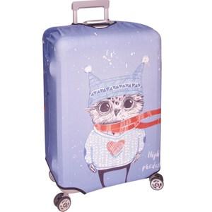 新款行李箱防塵保護套 行李箱套(貓頭鷹25-28吋)