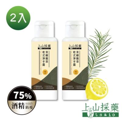 tsaio上山採藥 茶樹精粹乾式淨洗手露80ml(2入)