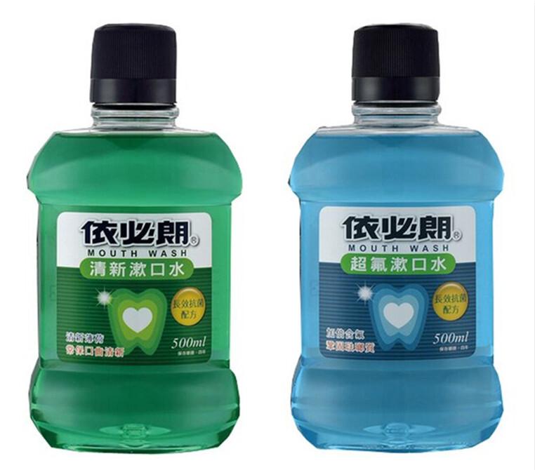 依必朗 超氟漱口水/清新漱口水500ml系列