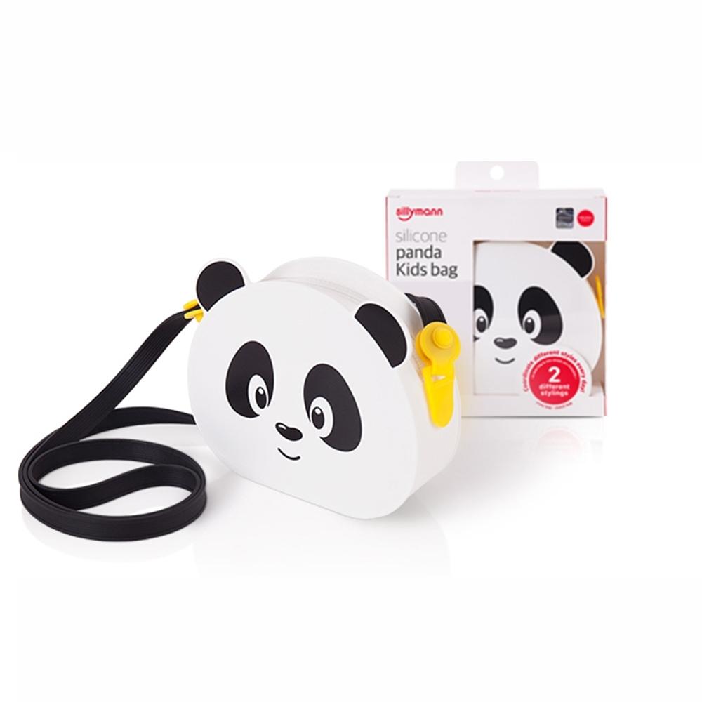 韓國sillymann 100%鉑金矽膠 小熊貓兒童包包