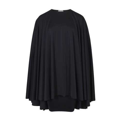 Flip Cape mini dress