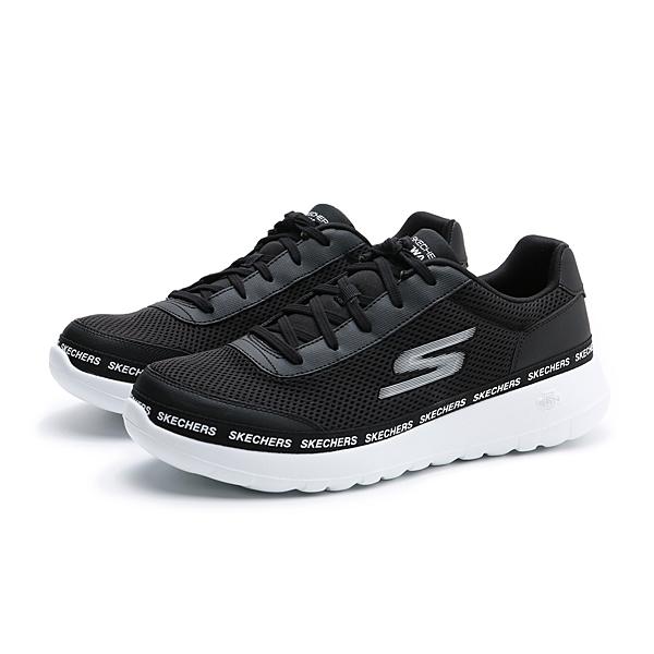 SKECHERS GO WALK MAX 健走男鞋 黑 白 216031BKW