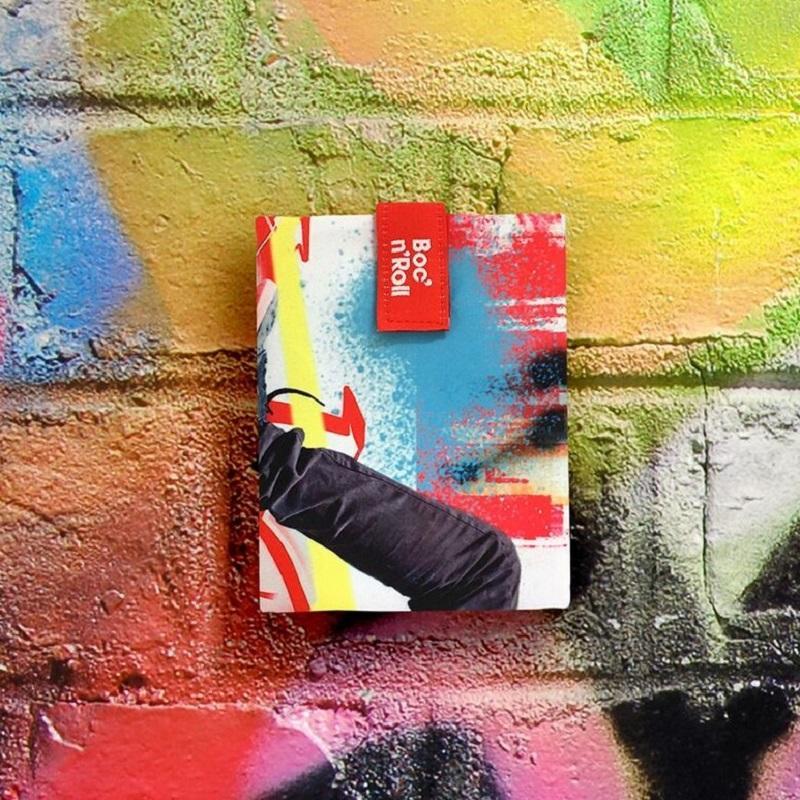 搖滾輕食袋-風格系列(4色) 沁涼衝浪