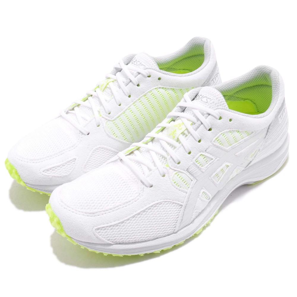 ASICS 慢跑鞋 Tartherzeal 6 運動 女鞋 亞瑟士 跑鞋 路跑 輕量 透氣 女 白 黃 [T870N0193]