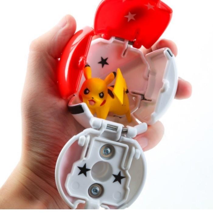 口袋妖怪pokemom go寶可夢皮卡丘觸碰可翻轉小精靈玩具