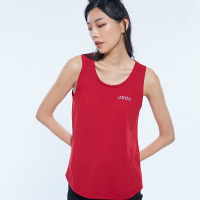 UDOU collagen挖背背心(紅)