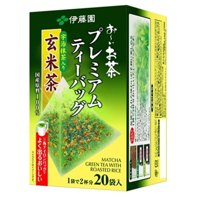 即期良品 伊藤園 宇治抹茶玄米茶 20袋入 冷泡茶 【JE精品美妝】