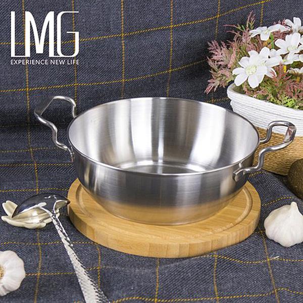 台灣製 LMG 304不鏽鋼小資泡麵鍋19cm 單人鍋 無上蓋