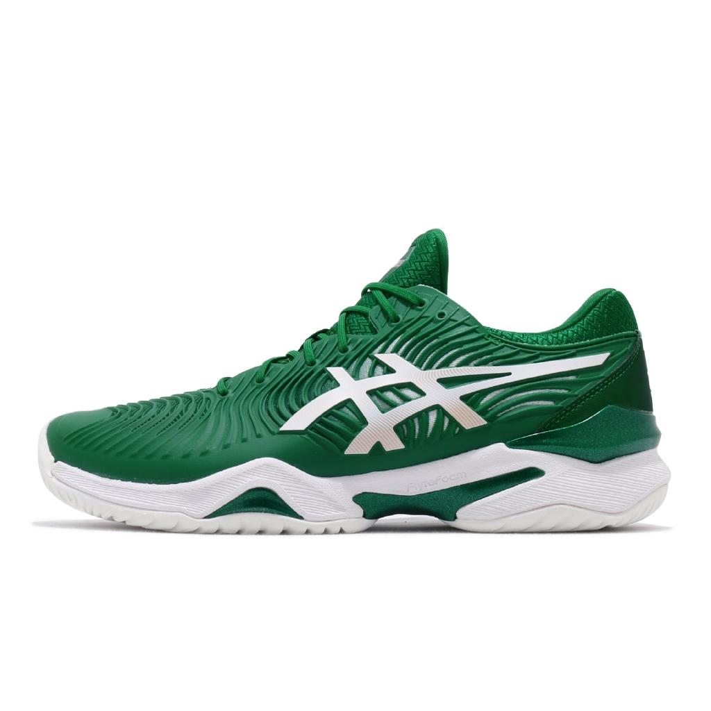 Asics 網球鞋 Court FF Novak 喬科維奇 綠 白 澳網公開賽 男鞋【ACS】 1041A089-301