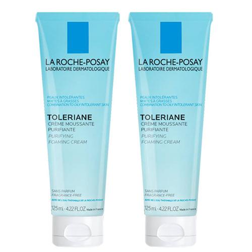 LA ROCHE-POSAY理膚寶水 多容安泡沫洗面乳125ml(二入組)
