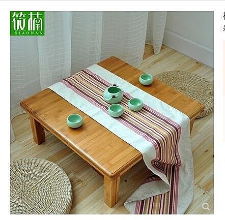 楠竹炕桌實木方桌正方形床上學習桌飯桌榻榻米桌子小茶幾飄窗矮桌