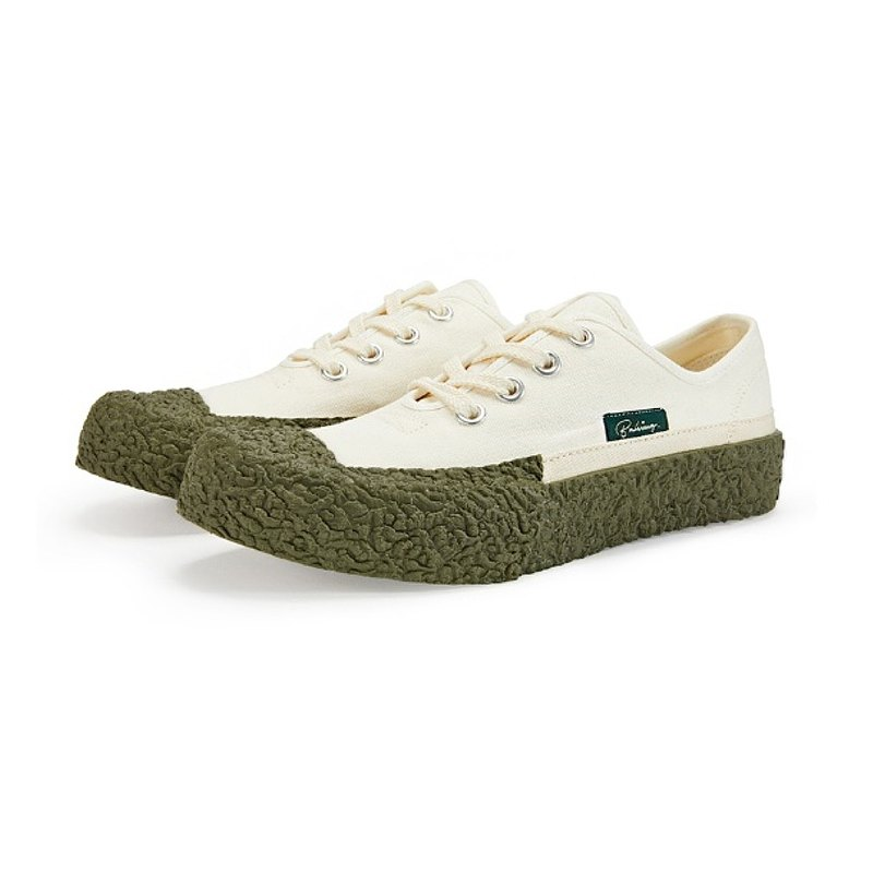 BAKE-SOLE Crust White/帆布鞋_Basil
