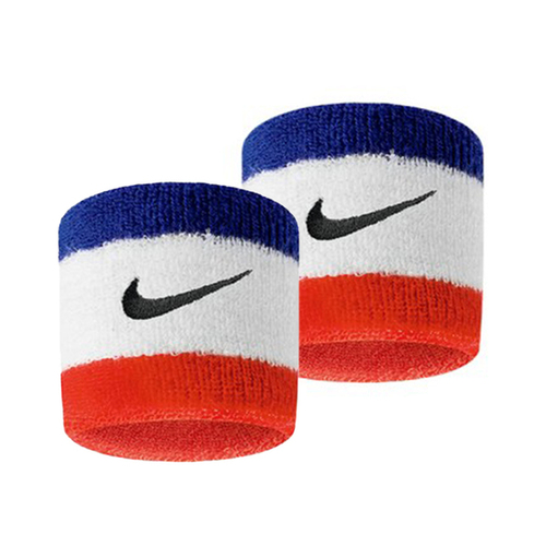 Nike Swoohs [N0001565620OS] 護腕 運動 打球 健身 單色 腕帶 吸濕 排汗 乾爽 彈性 藍紅