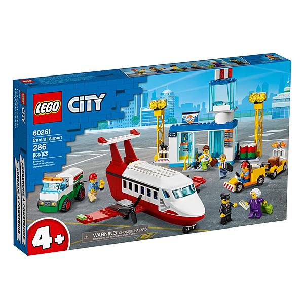 60261【LEGO 樂高積木】城市系列 City-中央機場 (286pcs)