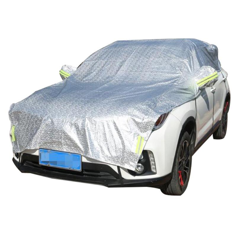 防曬罩 汽車罩 半罩 車衣防曬 遮陽罩 隔熱車套 防塵防雨便捷簡易遮陽傘太陽傘