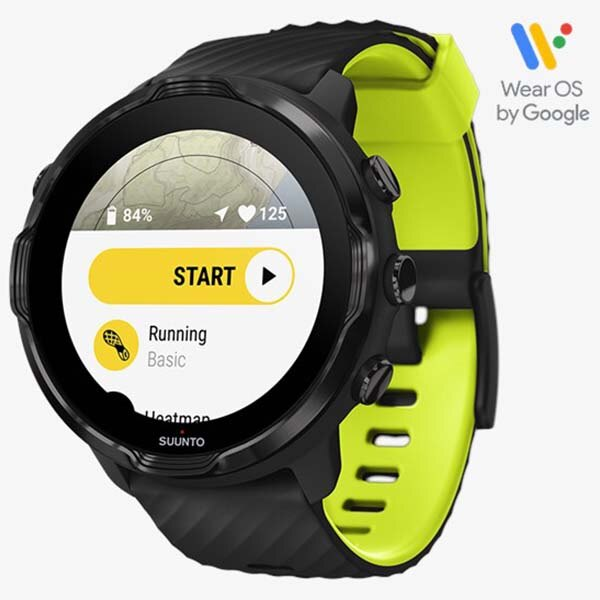 SUUNTO 7 BLACK LIME 多功能GPS運動手錶 黑 萊姆綠《台南悠活運動家》