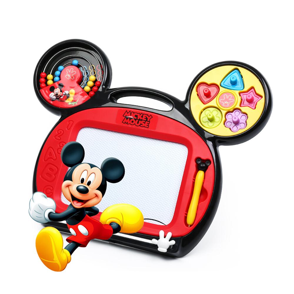 【美國Disney迪士尼】米奇四色多功能畫板/磁性畫板 AB17501