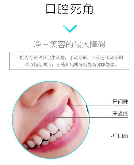 最新 電動牙刷 成人兒童非充電式 超聲波牙刷 電動牙刷