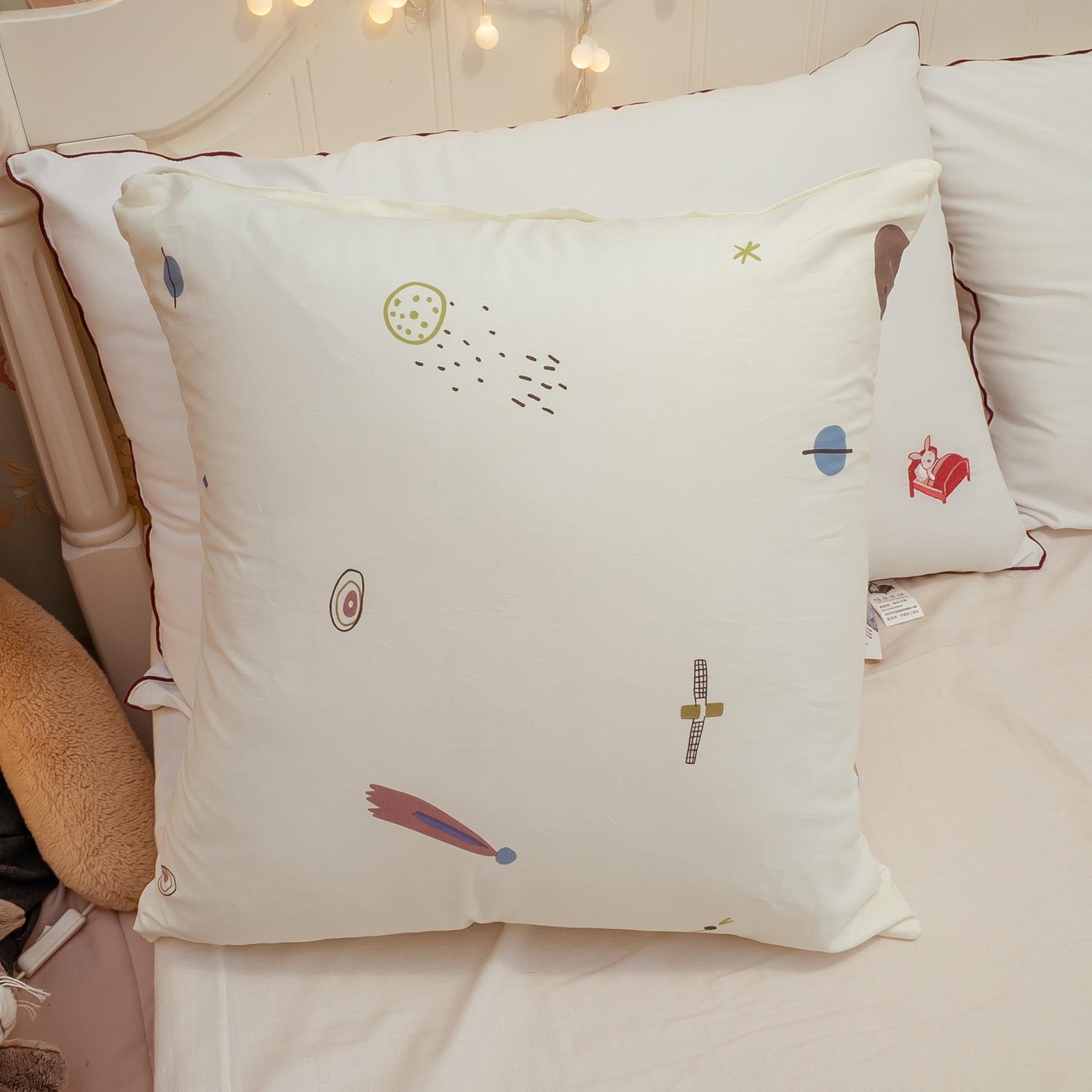 童話星球 純棉手工方抱枕 45X45cm【棉床本舖】
