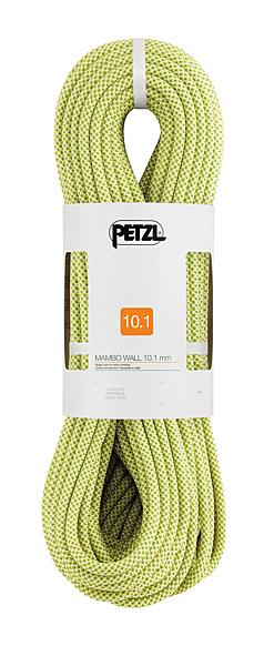 [好也戶外] PETZL MAMBO 10.1 mm 攀岩繩/主繩/運動攀登/動力繩 黃 60M