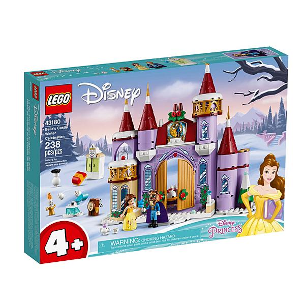 43180【LEGO 樂高積木】迪士尼公主 Disney Princess- 貝兒的城堡冬季慶典 (238pcs)