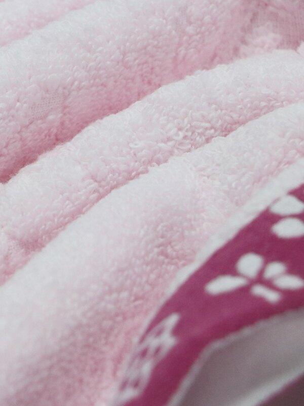 衛浴 毛巾 浴巾 方巾 小野花無捻紗浴巾 100%純棉/3色【Gemini双星毛巾】