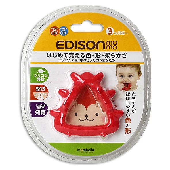 edison 三角形 狐狸 固齒玩具