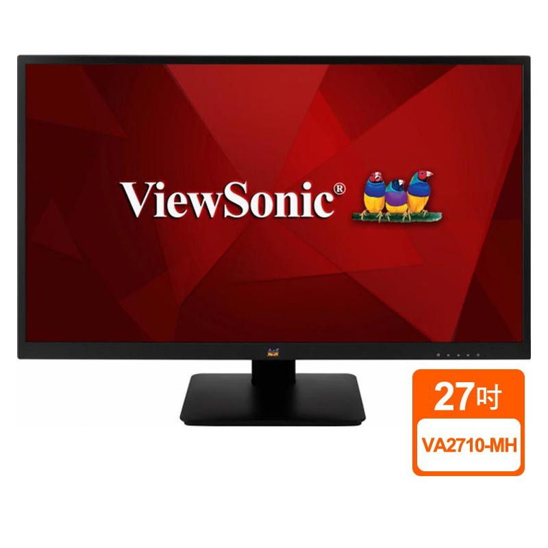 ViewSonic優派 VA2710-MH 27吋 LED液晶螢幕 液晶顯示器 VGA HDMI 三年保固 蝦皮24h