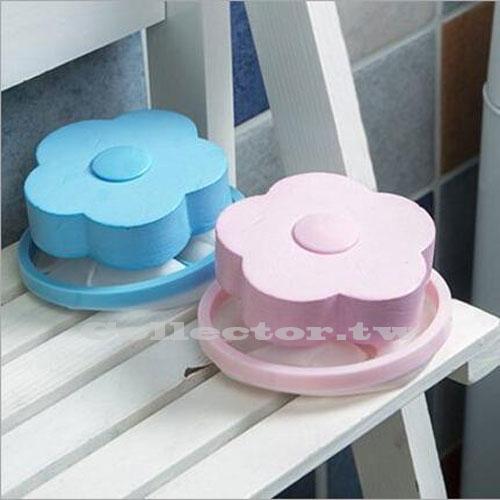 花形洗衣機除毛器漂浮過濾網袋濾毛器 去污除毛器洗衣球