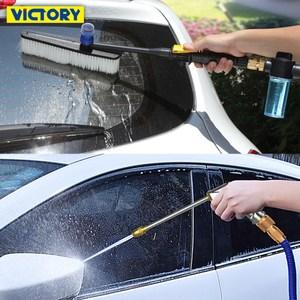 【VICTORY】高彈力伸縮水管水槍泡沫通水洗車全套組(10-30m)