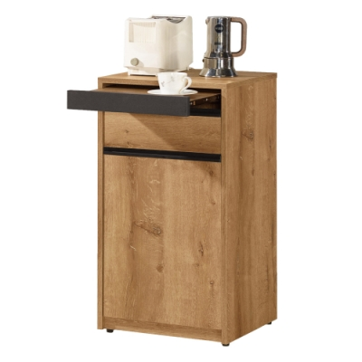 Boden-萊科1.5尺工業風多功能飲水機置物架/收納餐櫃/小型電器櫃-44x40x82cm