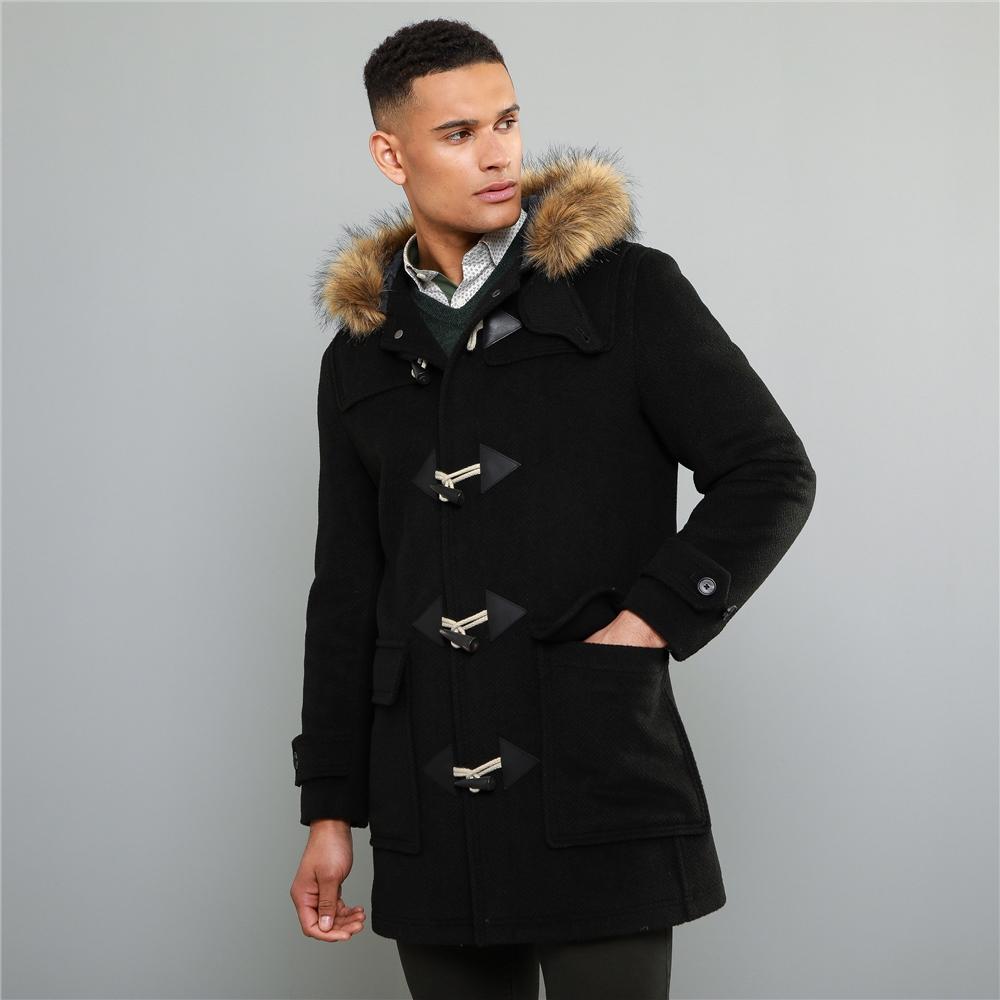 Magee 1866 Olive Moross Mouflon Duffle Coat