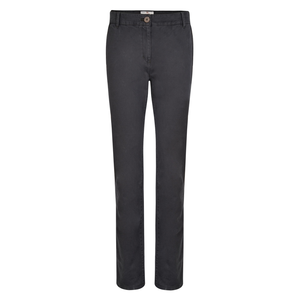 Magee 1866 Grey Sandy Washed Tailored Fit Trousers