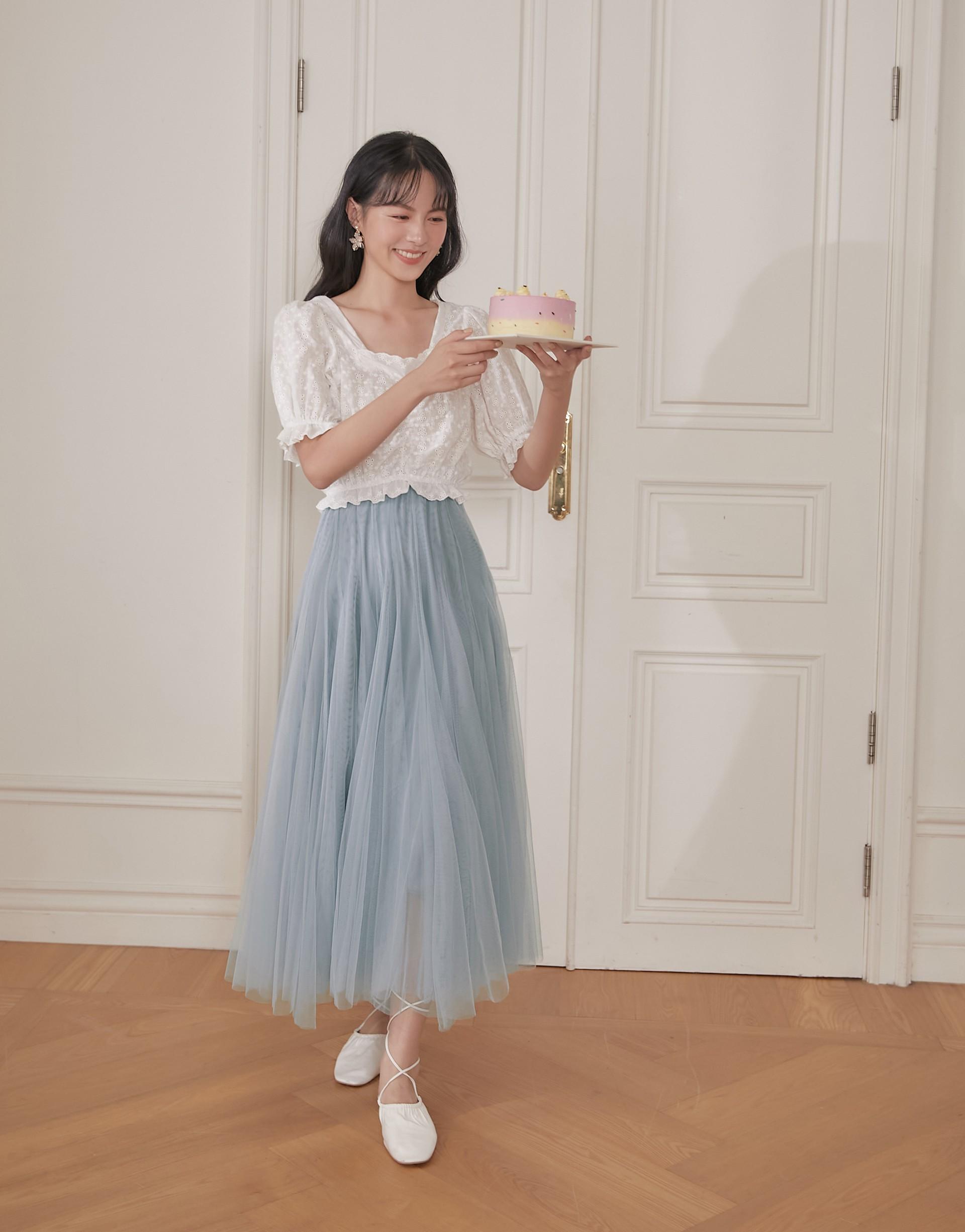 跳躍的仙女紗裙-PAZZO