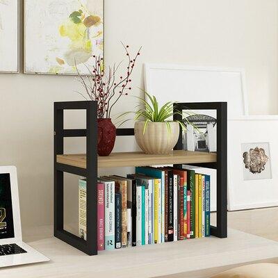 印表機置物架 辦公室置物架桌上書架簡易學生桌面小書櫃印表機收納架子簡約現代『XY3645』