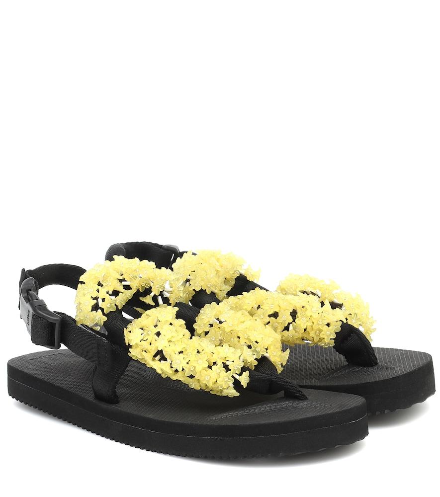 x Suicoke Kat embellished sandals