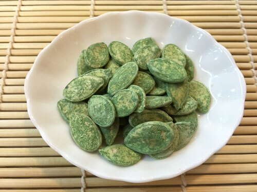 【譽展蜜餞】綠茶南瓜子 300g/100元