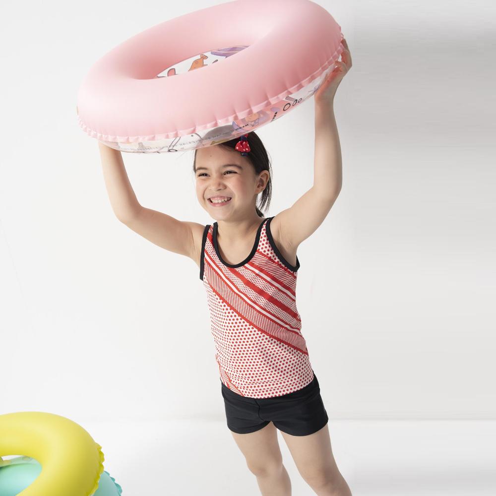 【SARBIS】女童兩截式泳裝附泳帽B822002
